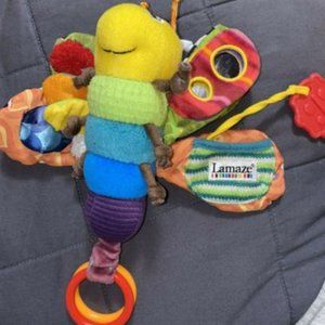 Lamaze Tomy Butterfly Sensory Developmental Toy